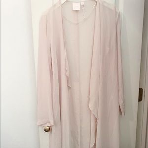 Lauren Conrad sheer cardigan